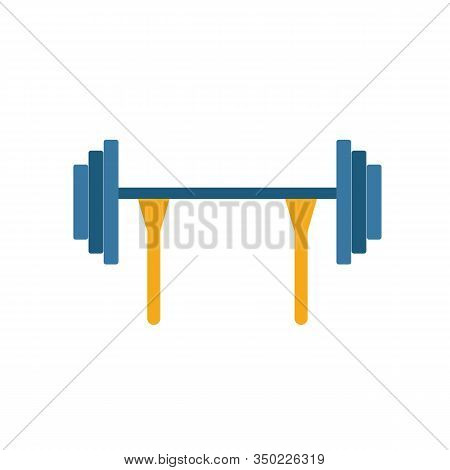 Barbell Icon. Simple Element From Sport Equipment Icons Collection. Creative Barbell Icon Ui, Ux, Ap