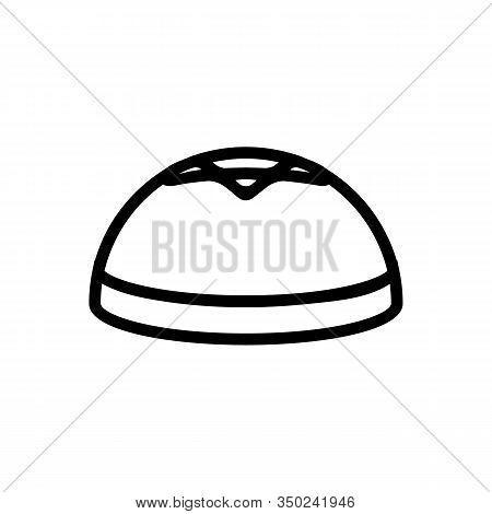 Jew Hat Icon Vector. Thin Line Sign. Isolated Contour Symbol Illustration
