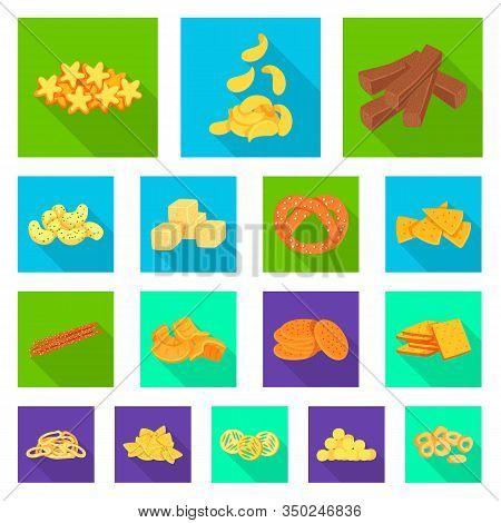 Vector Design Of Oktoberfest And Bar Logo. Collection Of Oktoberfest And Cooking Vector Icon For Sto