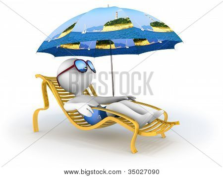 Summer Vacation: Seaside Relaxation
