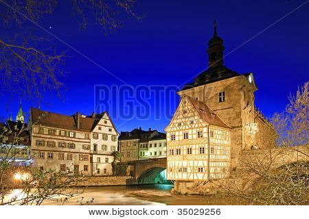 Old Town Hall Of Bamberg