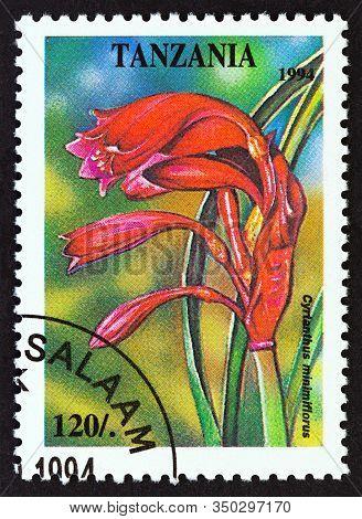 Tanzania - Circa 1994: A Stamp Printed In Tanzania From The