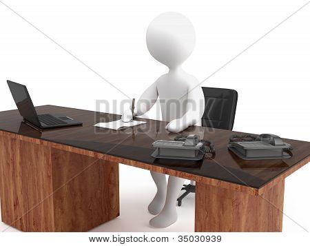 Character secretary