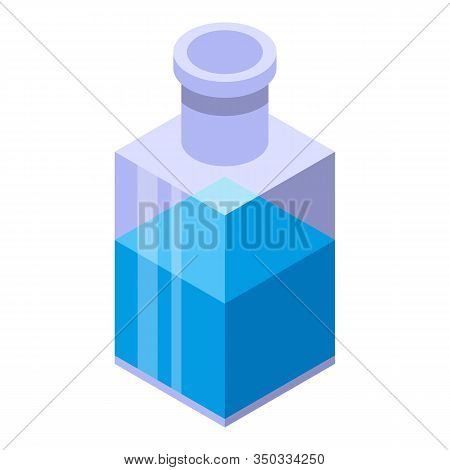 Arcanum Potion Icon. Isometric Of Arcanum Potion Vector Icon For Web Design Isolated On White Backgr