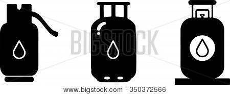 Gas Tank Icon Isolated On Background  Refill, Safety, Sign