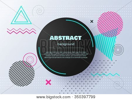Hipster modern geometric abstract background. Abstract circle geometric pattern design and background. Background Of Gradient Smooth Background Texture On Elegant Rich Luxury Background Web Template Or Website Abstract Background business Paper. Vector ba
