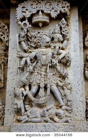 Hoysaleshvara Temple, Halebid,india