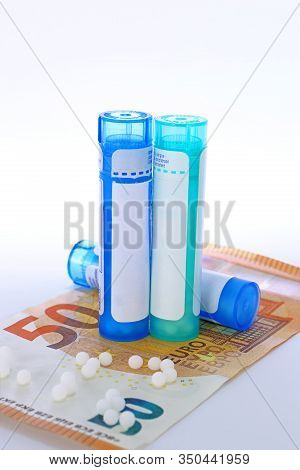 Homeopathie Bank Note Euros Pharmaceutical Industry Reimbursement