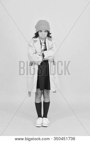 Street Style. Rebel Teen Girl. Madcap Concept. Teen Age. Girl Adorable Stylish Modern Teenager. Cool