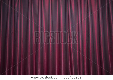 Red Panel Background Wallpaper Texture Red Closed Curtain With Light Spots In A Theater . . Red Stag