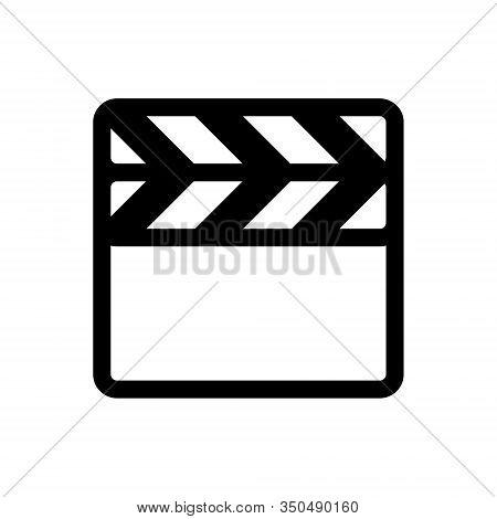 Insert Slate Outline Icon. Symbol, Logo Illustration For Mobile Concept And Web Design.