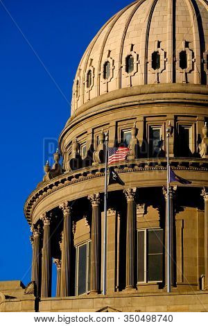 Idaho State Capitol Building governing government dome structure legal laws