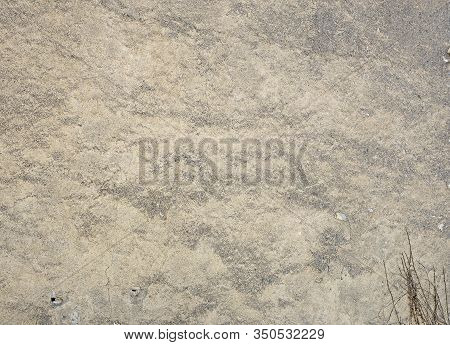 Part Of Grunge Grey Stucco Wall Background