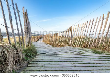 Way To Culdaff Beach, Inishowen Peninsula. County Donegal - Ireland.