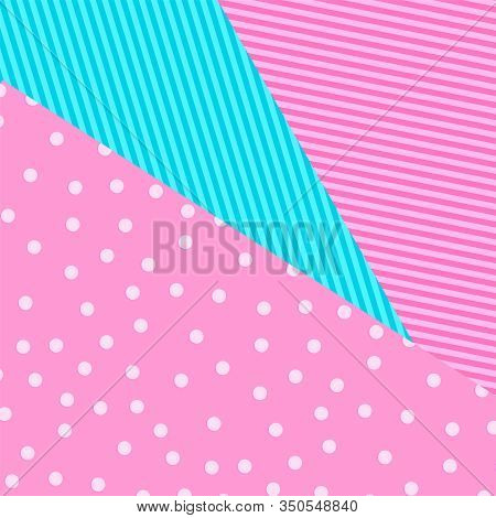 Cute Pattern Background In Princess Lol Doll Surprise Style. Vector Illustration