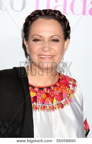 LOS ANGELES - JAN 18:  Adriana Barraza arrives at