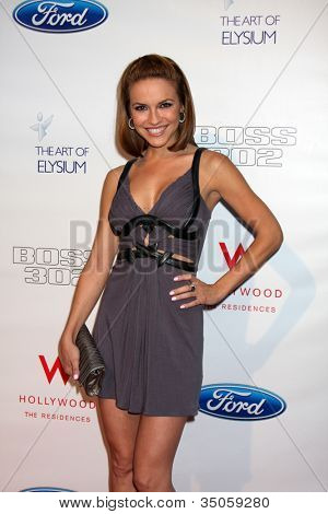 LOS ANGELES - JUN 9:  Chrishell Stause arriving at the Art of Elysium Return of Ford Mustang Boss Event at The Residences at W Hollywood on June 9, 2011 in Los Angeles, CA