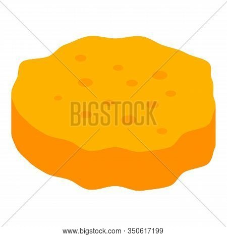 Burger Bun Icon. Isometric Of Burger Bun Vector Icon For Web Design Isolated On White Background