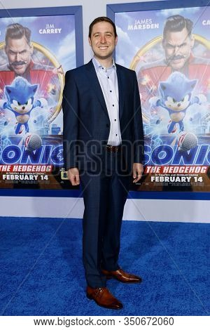 LOS ANGELES - JAN 12: Toby Ascher at the Sonic The Hedgehog Special Screening at the Regency Village Theater on February 12, 2020 in Los Angeles, California