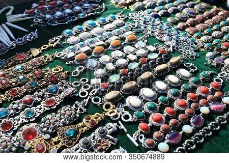 Vintage Jewellery In Swap Meet
