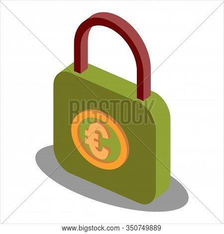Isometric Money Bag, Money Bag Icon Vector, Money Bag Icon Sign For Logo, Money Bag Icon Flat, Money