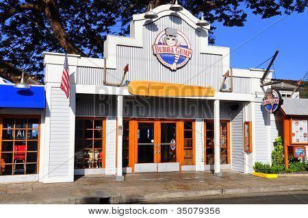 Bubba Gump restaurant