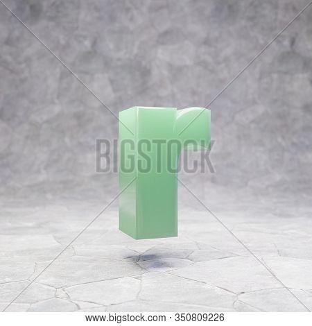 Origami Paper Font, Folded Ribbon Font 3d Rendering, Letter R ...   470x450