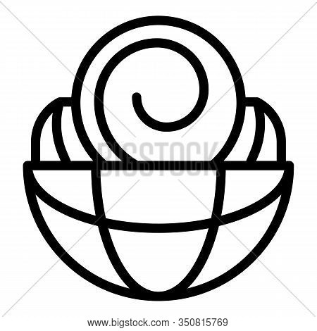 International Hypnosis Icon. Outline International Hypnosis Vector Icon For Web Design Isolated On W