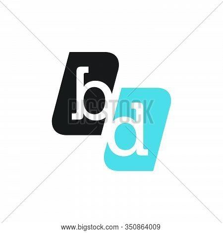 Bd Logo Type Letter Design Graphic Template Element
