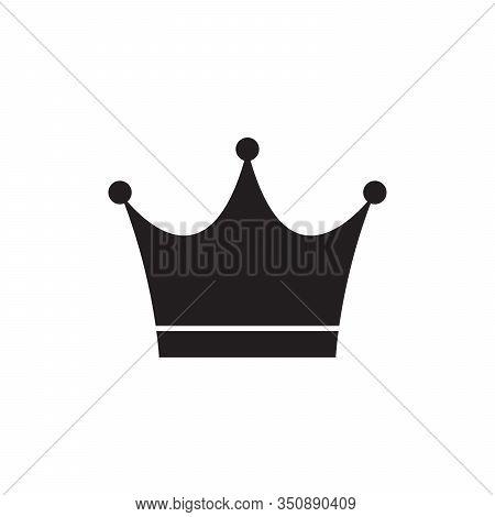 Queen Crown Icon. Royal, Deluxe Luxury Symbols.