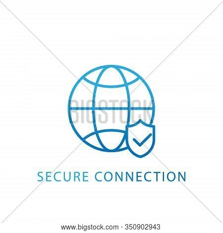 Connection. Connection icon. Connection vector. Connection icon vector. Connection logo. Connection symbol. Connection web icon. Connection vector flat icon symbol for website, logo, app, UI. Connection icon isolated on white background.