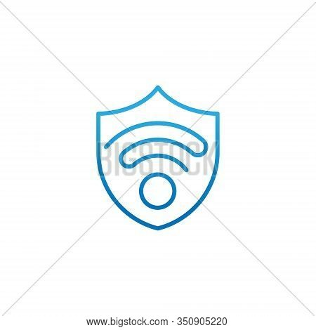 WiFi, WiFi icon, WiFi vector, WiFi icon vector, WiFi logo, WiFi symbol, WiFi sign, WiFi web icon, WiFi service provider. WiFi vector flat icon symbol for website, mobile, logo, app, UI. WiFi icon isolated on white background.