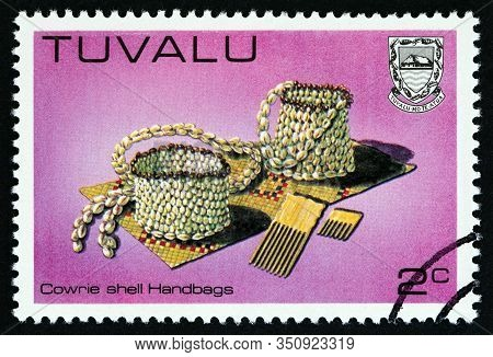 Tuvalu - Circa 1983: A Stamp Printed In Tuvalu From The