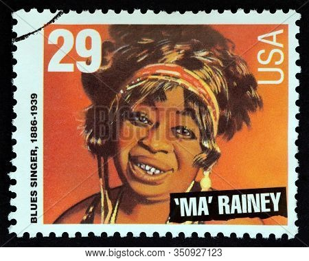 Usa - Circa 1994: A Stamp Printed In Usa From The
