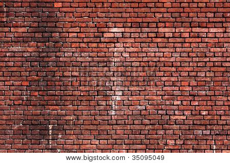 Brick wall background urban city building scene