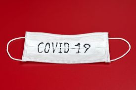 Covid-19 - Coronavirus Disease - 2019-ncov, Wuhan Corona Virus Concept. Surgical Mask Protective Mas