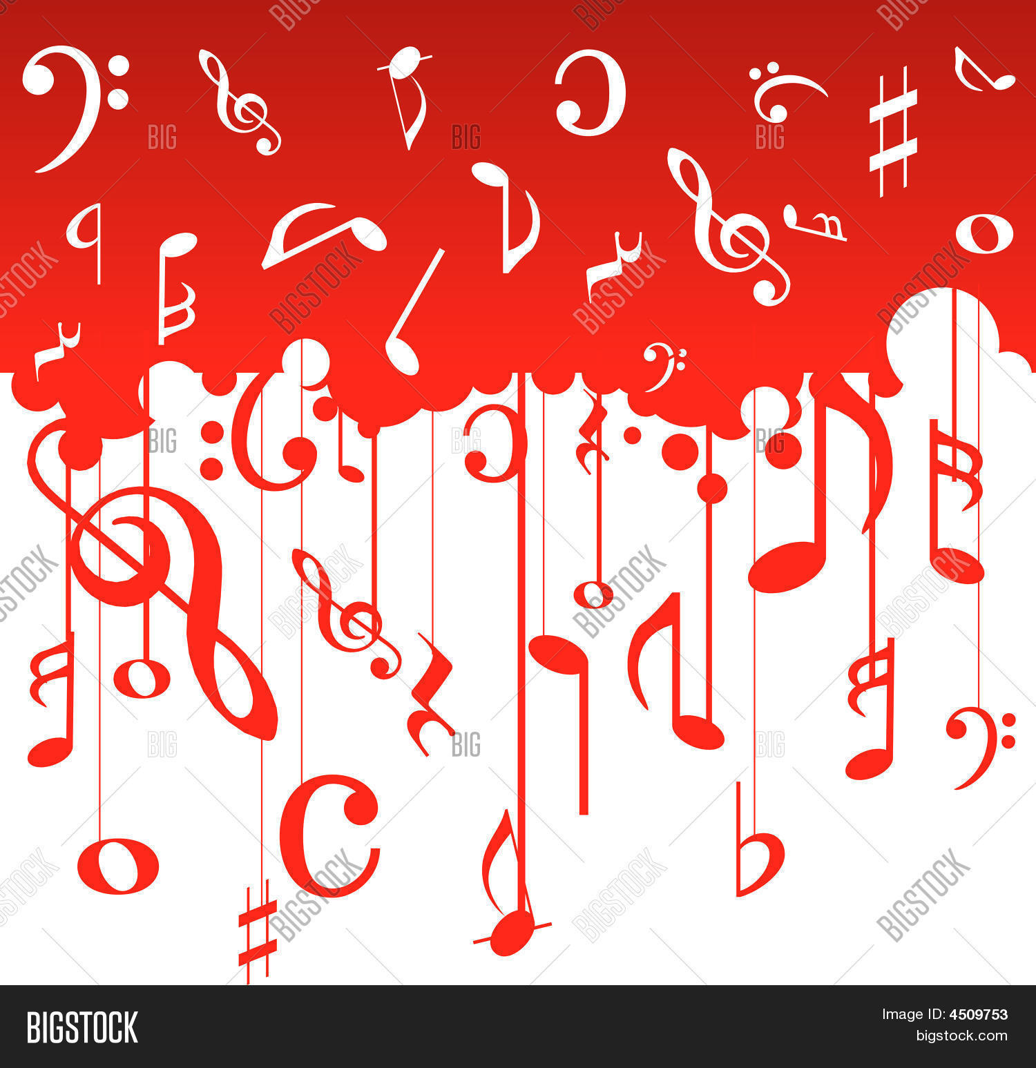 Music Note Pattern Magnificent Decorating