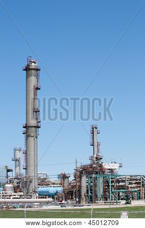 Petrochemical Plant Vertical