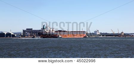 Coal Carrier - Newcastle Australia