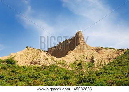Sphinx Shaped Historically Famous Hill In Gallipoli Turkey