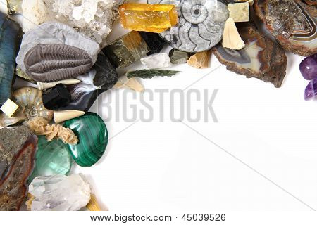 Color Mineral And Gems Background