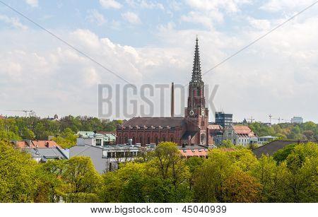 Mariahilfkirche, A Church In Munich - Bavaria, Germany