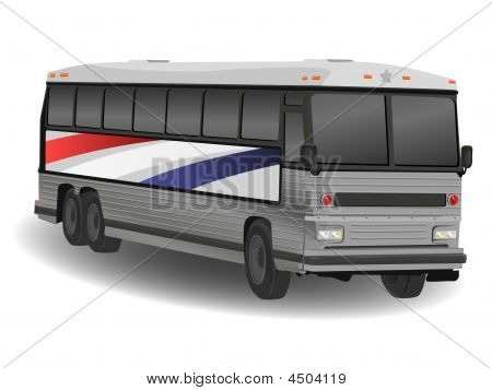 American Greyhound Bus