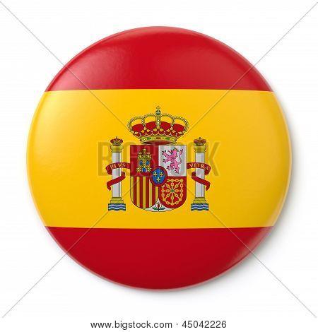 Spain Pin-back