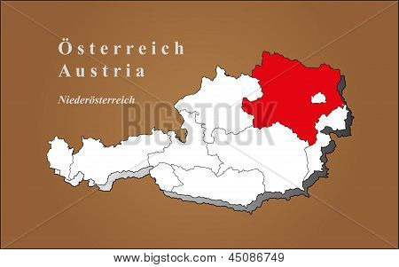 Austria Loweraustria Highlighted