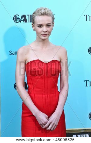 NEW YORK-NOV 18: Actress Carey Mulligan attends the premiere of