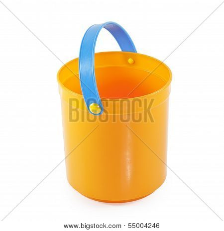 Orange Toy Small Bucket