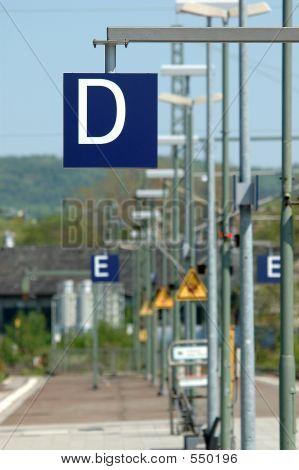 Train Station Platform D