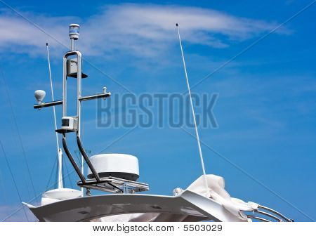 Communication: Gps And Antennas On A Boat
