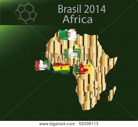 Brazil 2014 Team Africa